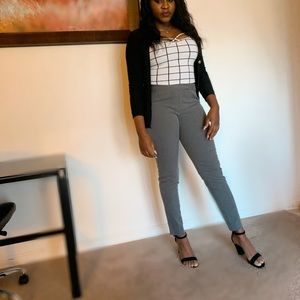Grey office pants